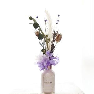 プルメリアの香り×Purple flower【フラワーディフューザー】ギフト 贈り物 誕生日 インテリア 花 誕生日 母の日ギフト