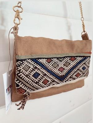 FEDE Sahara Crossbody Chain Bag