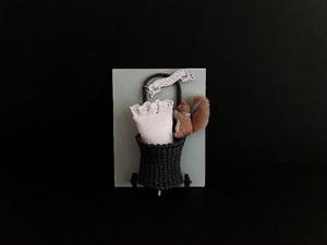 Collette Blanc ①リスちゃんショッピングカートset
