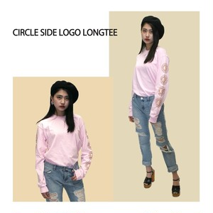 Circle Side Logo Long tee