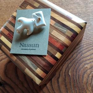 ブローチ(レター)Nassunさん