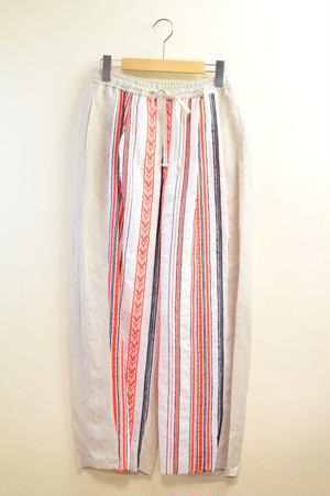 刺繍フリンジパンツ(K191-64007)