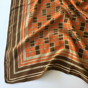 Europe Scarf Brown M