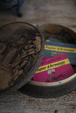 Papier d'Arménie(紙のお香)