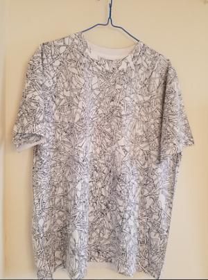 TRANSPARENTZ 「全面照射」 Tシャツ Lサイズ