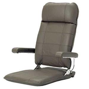 お父さんの本革座椅子ブラウン色