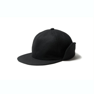 EVISEN CAPTAIN WOOL CAP BLACK エビセン キャップ