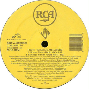 SWV - Right Here / Human Nature (12inch) Michael Jackson [r&b/soul] 試聴 fps7908-31