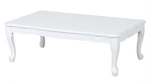 98. ロココ調のプリンセス系ヨーロピアンテーブル(猫足は折り畳み)