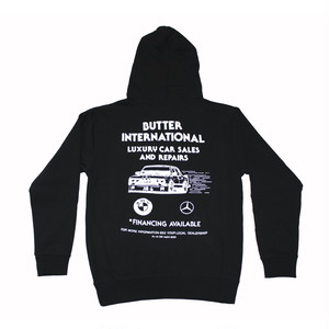 BUTTER GOODS M3 PULLOVER HOOD BLACK