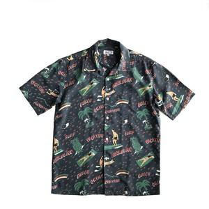 Mountain Men's オープンアロハシャツ /  VACATION / Navy  / 残り1枚