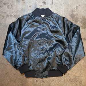 Dead Stock AUBURN nylon stadium jumper metallic