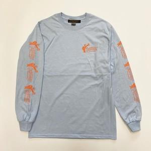 """""""Mr.ZIPPER"""" L/S T-Shirts(Light Blue)"""