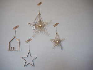 plate star ornament