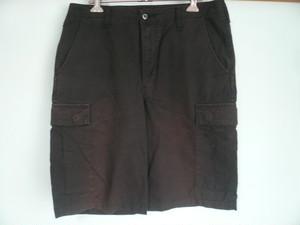 CARHARTT カーハート 6ポケット ハーフパンツ ショートパンツ 黒 ブラック リップストップ Lサイズ
