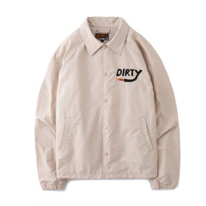 AT-DIRTY(アットダーティー) / DIRTY FIRE COACH JACKET (NATURAL)