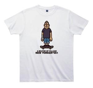 《山本周司Tシャツ》TY051/ A SKATER OF VILLAGE