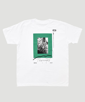 Allege Graphic Therapy T-Shirt (BPS/ref. Exclusive Model) ALSPT-CT05 White