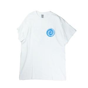 Tatsuya Hirayama / tAt / Shirt Sleeve T / White / Blue