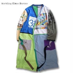 Remake Nocollar T-Shirt Gown -Fancy