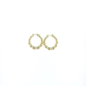 【GF-2-4】Gold Filled Bamboo Earring