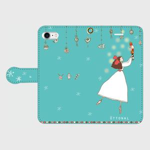 (iPhone)クララ 手帳型スマホケース