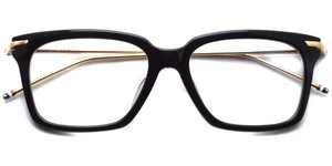 TB-701 (Black - 12K Gold) / Thom Browne