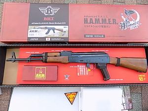 BOLT  電動ガン本体 BR-39 AKM HAMMER リコイル ショック 電動ガン
