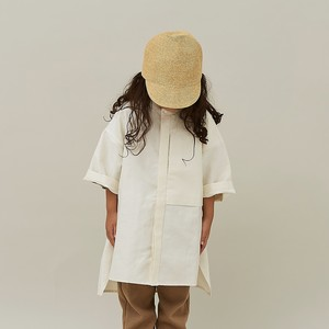 MOUN TEN. C/L moleskin shirts (ecru) 110 125 140 [21S-MS19-0920a]  MOUNTEN.※1点までメール便OK