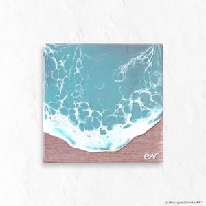 OCEAN ART 2020#24 (H10×W10×D2.3cm)(Class S)