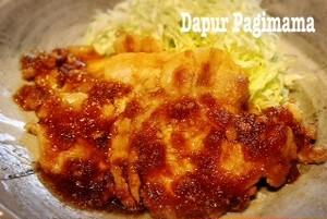 Dapur Pagimama 豚のしょうが焼き Babi Panggang Saus Jahe