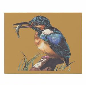 カワセミフィッシュ キャンバス作品 220×273cm