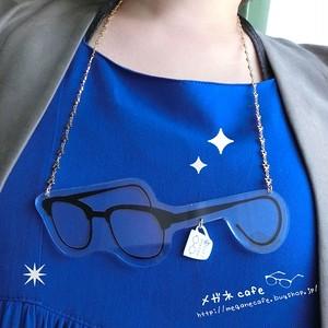 【再販】おおきなメガネックレス。