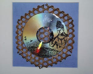 ☆    CD画  〈 題名 〉  【  仏 と 山村  】