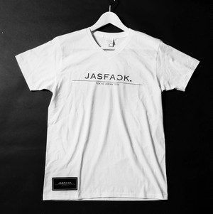 LOGO V-neck Tee (JFK-005) - White