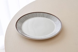Gustavsberg Spisa Ribb dinner plate(Stig Lindberg)