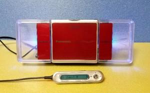 MDポータブルプレーヤー Panasonic SJ-MJ59-R MDLP対応 完動品