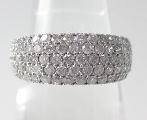 1.00ⅽt ダイヤモンド ハーフエタニティリング プラチナ ~1.00ⅽt Diamond Half Eternity Ring Platinum~