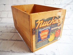 品番0370 木箱 フルーツラベル キーストーン  ヴィンテージ