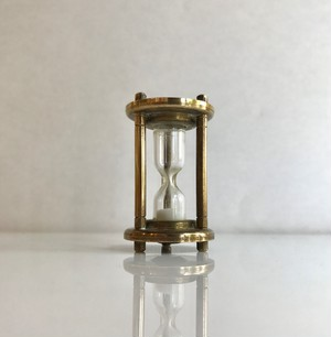 Antique Brass Hourglass オランダ