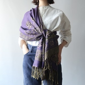 Vintage shawl / purple