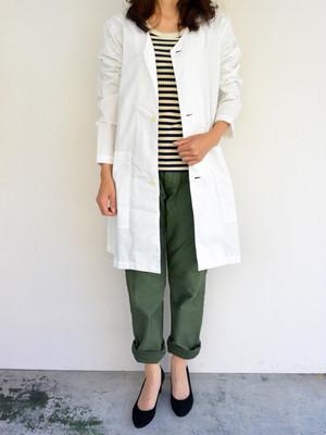 have a good day(ハブアグッドデイ) V-Neck Long Shirtcoat Vネックロングシャツコート