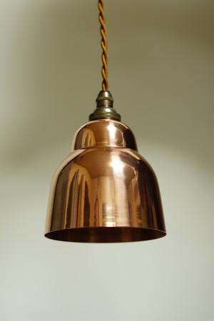 Copper pendant lamp#1