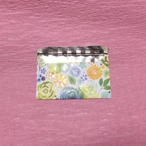 ミニミニ洋封筒(箔押し&銀)ぽち袋 綺麗でかわいい!!薔薇模様