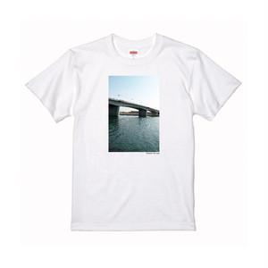 【寄付対象】【CHIKUGO百景】二千年橋Tシャツ(送料無料)