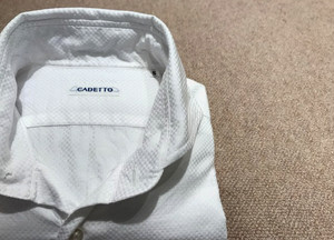 CADETTO ORIGINALS SHIRTS dobby cloth white