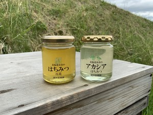 非加熱の北海道余市町産 はちみつ味くらべセット(6月下旬頃発送)