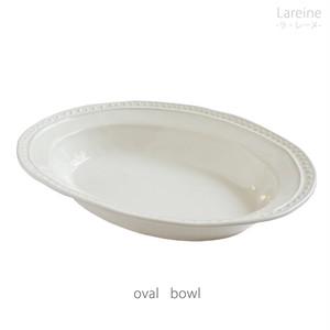 ラ・レーヌ  オーバルボウル 079005 maison blanche (メゾンブランシュ) 【日本製】