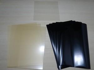 【真っ黒ネガフィルム】すたんぷつくーる!【お徳用3枚】樹脂版セット