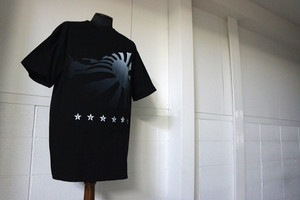 KRCmodified TシャツC(Black)